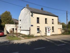 A Viville (Arlon), maison 4 façades à moderniser, 3 chambres. belle situation. Idéalement située, à proximit&eacute