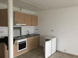 Appartement situé au rez d'un petit immeuble. Il est composé d'une cuisine semi-équipée-salon, 1 chambre, salle de douches
