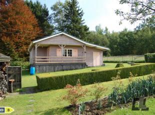 Mooie, kleine vakantiechalet, ideaal gelegen op de hoogten van Vielsalm.