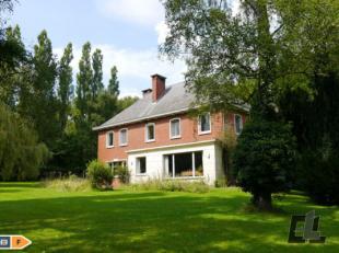 A vendre, ancienne propriété de prestige sur les hauteurs de Chaudfontaine !