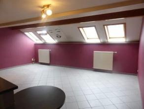 Centre Arlon, appartement 2 chambres : hall d'entrée, grand séjour, cuisine équipée, buanderie, salle de bains. wc s&eacut