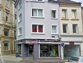 Plein cente Ville, Appartement 1er étage : Lving, cuisine équipée, sdb, 1 chambre.