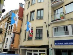 Centre ville d'Arlon, au 3 ème étage, Studio composé de : séjour, chambre, cuisine semi-équipée, sdd, wc s&e