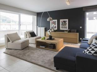 C'est en bord de Meuse, à proximité du centre d'Andenne, commune dynamique en plein essor, que se situe cet appartement d'exception de 1
