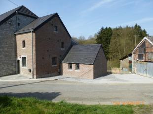 - Libre le 1er juillet 2019 -<br /> Dans le petit village de Verlaine, sur la Commune de Durbuy, très belle maison entièrement ré