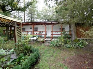 ANTOINEIMMO - 0477/521065 - Cette jolie caravane avec bardage bois + garage et abri est située dans une petite rue tranquille sur un magnifique
