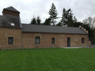 Havré rue de Beaulieu 119A, très jolie maison de pl. pied neuve dans un cadre campagnard, très calme (rue sans issue) comp: hall