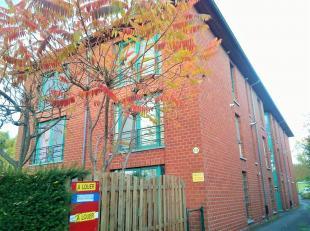 Joli appartement très proche du centre de Mons avec 1 emplacement de parking : séjour, cuisine équipée, salle de bain, 1 c