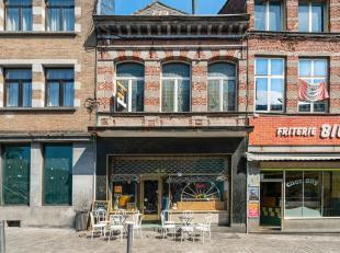 Venez découvrir cette bâtisse situé en plein coeur du marché aux herbes à Mons.Avec une surface totale de 370m2, ce