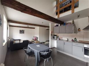 Très bel appartement 3 chambres en duplex à 2 pas du centre ville.<br /> Composition: Hall d'entrée avec beau living comprenant s
