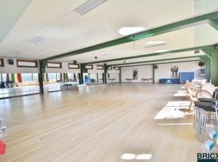 Instapklaar Sport en welness centrum! Omvattende ruime parking, Onthaal met ingerichte bar en salon - 2 grote polyvalente ruimten (vandaag gebruikt al
