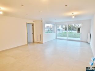 Ruim 'BEN' (Bijna- Energie Neutraal) gelijkvloers nieuwbouwappartement met een bewoonbare oppervlakte van 91m² met een E-pel van 29!<br /> Door d