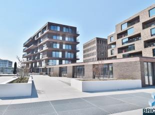 1- slaapkamers app. nabij het station en centrum van Brugge! Omvattende inkom, woonkamer met open keuken, terras van 9,66 m², berging, badkamer e