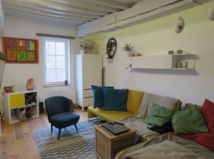 Geniet van een gerenoveerde woning in het Sint-Annakwartier afgewerkt met kwaliteitsvolle materialen. Deze eigendom werd volledig vernieuwd in 2015 en