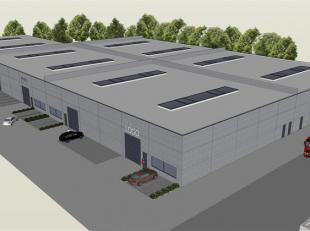 Nieuw op te richten bedrijfsgebouwen.<br /> Oppervlakte vanaf 1.800m²; uitbreidbaar met oppervlaktes vanaf 600m².<br /> <br /> Ligging: Gent