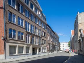 Gerenoveerd appartement met 2 slaapkamers en zuidgericht terras op de 4de verdieping, gelegen op een TOPLIGGING in het hart van de historische binnens