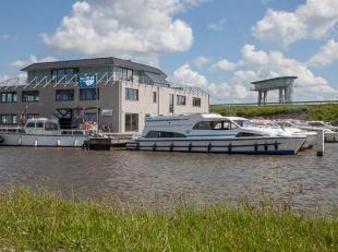 Kantoor (85m², netto!) gelegen aan het kanaal te Nieuwpoort in nieuwbouwcomplex Nautisch Bedrijvencenter Westhoek Marina.<br /> <br /> Het kantoo