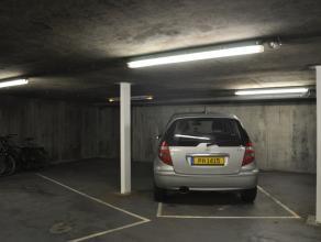 Ondergrondse staanplaats (nr.7) aan het Biskajersplein<br /> <br /> Hoogte: 1,80m <br /> <br /> - Huurprijs:  151,25 (incl. BTW)<br />