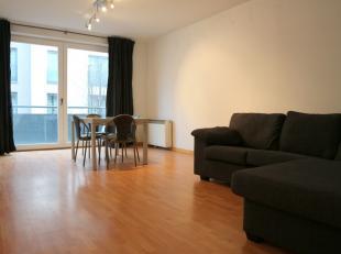 Ruim 2 slaapkamer appartement te huur in de Frontispiesstraat in Brussel.<br /> <br /> Indeling:<br /> - living met een uitgeruste keuken (koelkast, e