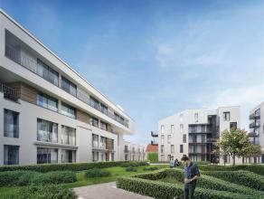 Appartement met 2 slaapkamers te huur met een ruim terras in de hippe Dansaertwijk aan het kanaal van Brussel. Het is aangenaam wonen in deze buurt, w