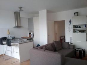 Ruime appartement van 99m² met 2 slaapkamers.<br /> Bovendien is er ook een terras van 7m².<br /> <br /> Het appartement beschikt over 2 rui