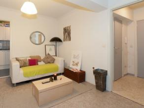 Deze zeer goed gelegen studio van 43m² bevindt zich nabij de Kouter in Gent. <br /> <br /> 1e verdieping:<br /> Inkomhal met vestiaire, badkamer,