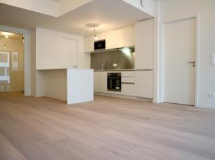 Nieuwbouw 1 slaapkamer appartement op het Jan Jacobsplein te Brussel.<br /> Het appartement beschikt over:<br /> - inkomhal<br /> - living met volledi