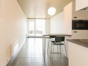 Deze volledig vernieuwde studio (30m²) is gelegen op de gelijkvloerse verdieping van Residentie Santhille te Raversijde - Oostende. <br /> Hier g