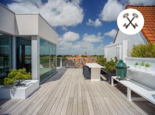 """Uitzonderlijke penthouse (155m² aan bewoonbare oppervlakte) in residentie """"De Mouterie II"""" op een toplocatie nabij de Dampoort, Damse Vaart, Baro"""
