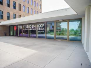 Nog op zoek naar een studentenkot?<br /> <br /> Gemeubelde studentenkamer (20m²) gelegen in STUDIO BRUGGE op centrale ligging nabij het station v