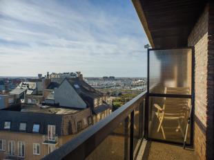 Dit zonnige 1-slaapkamer appartement ligt aan de achterkant van de zeedijk en kan genieten van een prachtig open zicht over het stadscentrum en de ach