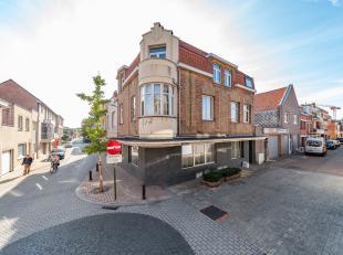Propriété d'investissement bien entretenu à vendre au centre de la Panne. Situé au Kasteelstraat, à distance de mar