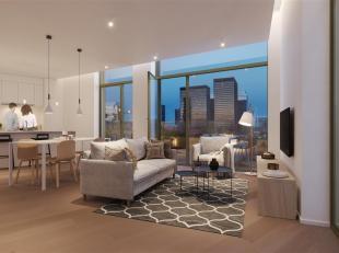 Prachtig nieuwbouwappartement gelegen in het project RIVA aan de oevers van het kanaal. Het appartement met 3 slaapkamers is gelegen op de tweede verd