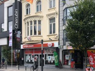 Handelspand of kantoorruimte te koop op uitstekende locatie in Kortrijk<br /> <br /> Betreft: <br /> -open handelspand van ca. 220 m² inclusief 3