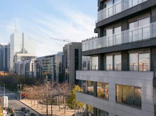 1 slaapkamer appartement in een recent gebouw, gelegen in een zijstraat van de Kruidtuinlaan en de Emile Jacqmainlaan. <br /> <br /> Het appartement b