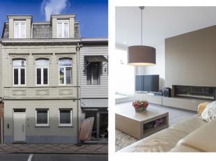 In de Stationsstraat, nabij het centrum van Izegem, staat dit karaktervol huis te koop. Het huis werd opgetrokken op een perceel van 190m² en gen