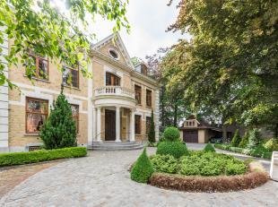 Dit kasteel is gelegen op een perceel van ca. 1.5 hectare, door de prachtig aangelegde tuin met vijver geniet u van alle rust en privacy. <br /> <br /