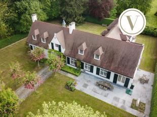 Uniek gelegen villa naar de hand van architect Viérin. <br /> Deze villa bevindt zich in het uitzonderlijk residentieel kader. De Wolvendreef i