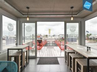 Handelsgelijkvloers op top ligging op de zeedijk van Knokke tussen het Casino en het Rubensplein. Deze recente residentie 'Belle-Rive' werd gebouwd in