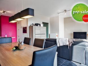 Appartement in het centrum van Aalter met zicht op het aangelegd wandelpark te koop met 2 slaapkamers. Goede verbinding naar station, E40, Knokkeweg e