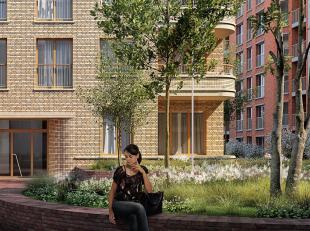Dit mooi appartement vindt u terug in de Park Lane residentie Hampton gelegen op de Tour&Taxis site te Brussel. Met een bewoonbare oppervlakte van