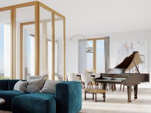 Dit mooi appartement vindt u terug in de Park Lane residentie Brooklyn gelegen op de Tour&Taxis site te Brussel. Met een bewoonbare oppervlakte va