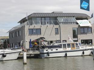 Kantoor (23m², netto!) gelegen aan het kanaal te Nieuwpoort in nieuwbouwcomplex Nautisch Bedrijvencenter Westhoek Marina.<br /> <br /> Het kantoo