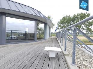 Kantoor (157m², netto!) gelegen aan het kanaal te Nieuwpoort in nieuwbouwcomplex Nautisch Bedrijvencenter Westhoek Marina.<br /> <br /> Het kanto