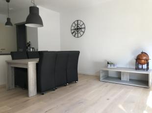 Appartement meublé 2 chambres et spacieux dans le projet Gloria sur le site de Tour & Taxis. Situé près du canal très