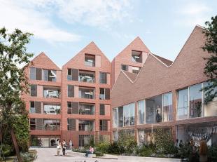 Nieuwbouwppartement (80 m²) met 2 slaapkamers en terras te koop in project De Looierij in de Gasthuisstraat in Poperinge.<br /> <br /> Residentie