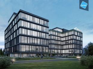 Moderne kantoren te huur in indrukwekkend bedrijfsgebouw te Gent. De uitstekende ligging in businesspark The Loop zorgt voor een hoge visibiliteit in