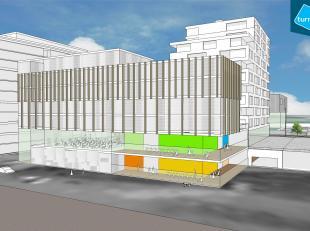 Kantoor te huur in nieuwbouwproject 'Nieuw Brugge' op een centrale ligging nabij het station van Brugge.<br /> <br /> INDELING:<br /> - Oppervlakte: 8