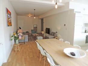 Luxe-nieuwbouwappartement met ruime leefruimte, open ingerichte keuken, berging, 2 slaapkamers, ingerichte dressing, badkamer en douchekamer, terras,