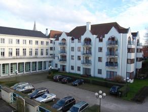 Residentie Ten Eeckhoute, service-residentie met dienstverlening App op 1e verdieping met zicht op de zijtuin. Appartement met mooie living en terras,